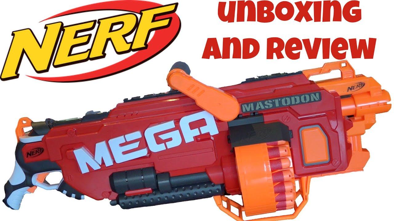 NERF Mega Mastodon Blaster | HiConsumption