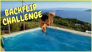 Ksfreak vs Krappi | BACKFLIP - Schwimmwett - Challenge | König von Griechenland #1