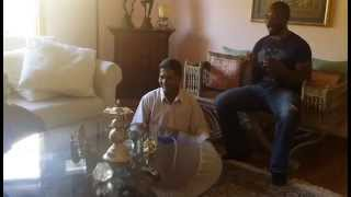 "MC ZULU / Electro Reggae Soundsystem (Unplugged) ""Om Shanti"" Live with Indian Orchestra"