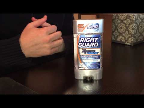 Right Guard Extreme Cooling Gel Deodorant Review