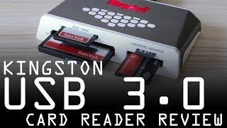 Kingston USB 3.0 Memory Card Reader Review (FCR-HS4)