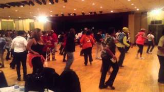 Sakeim- Soul Line Dancing at Newark Symphony Hall 1-11-13