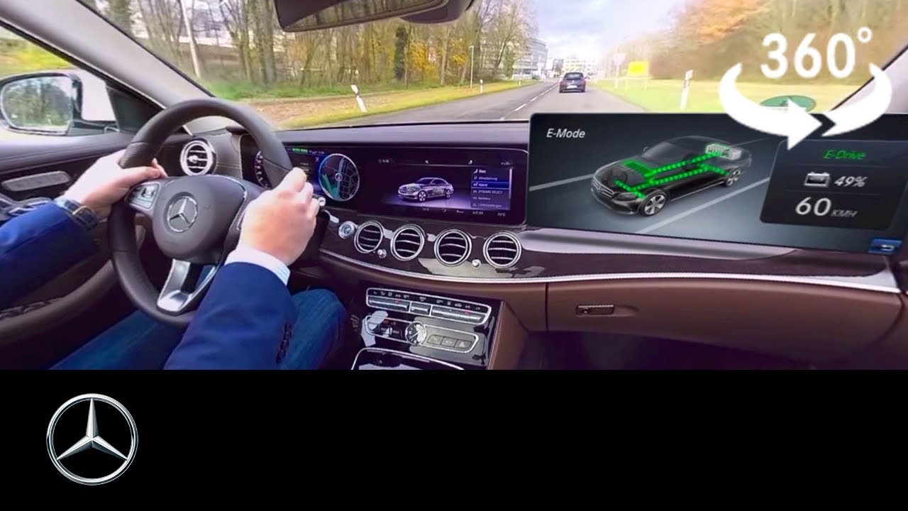 360 Video Of The Mercedes Benz Plug In Hybrid With Eq