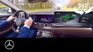 360° video of the Mercedes-Benz plug-in hybrid with EQ Power