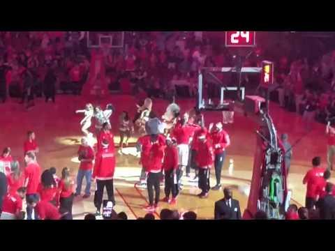 2016 Rockets Intro Rockets vs Spurs
