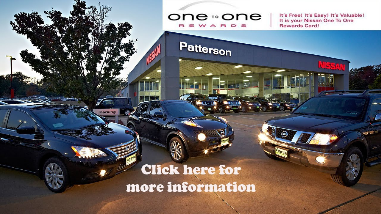 Car Dealerships In Longview Tx >> Nissan One To One Rewards Video At Patterson Nissan In Longview Texas