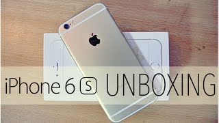 iPhone 6S GOLD - Unboxing, Setup & First Look HD