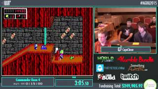 Awesome Games Done Quick 2015 - Part 62 - Commander Keen 4 by CapnClever
