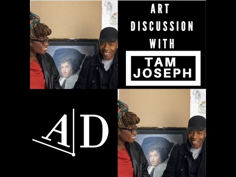 Tam Joseph, Art Discussion: In Conversation with Adelaide Damoah
