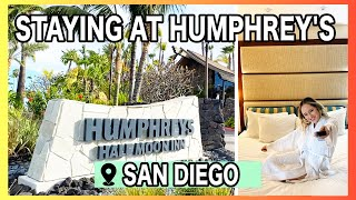 Staying at Humphrey's Half Moon Inn | San Diego [Hotel + Room Tour]