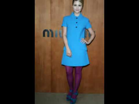 0411b1fcdcfe Dianna Agron Shows off Her Pantyhose - YouTube