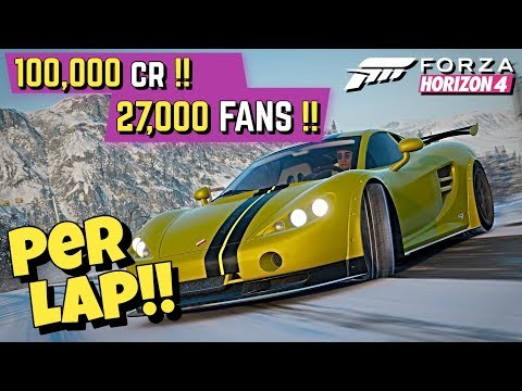 How to LEVEL UP *EVERY LAP* in Forza HORIZON 4!! thumbnail