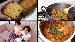 Evening to Night Routine | Indian Dinner Routine | Carrot Cake | Indian moms busy Routine | Vlogger
