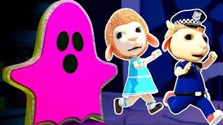 О нет Страшный Призрак и Игры в Прятки Смешные Мультики Детские Песни и Добрые Страшилки 200