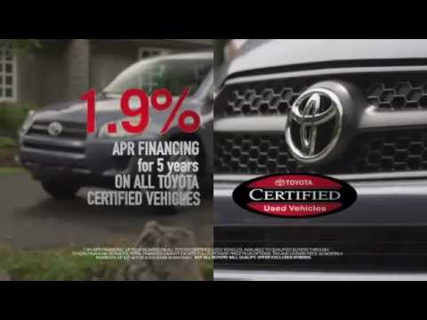 Haley Toyota Certified Center Offers Low Rate Financing On Used Cars   Richmond-VA