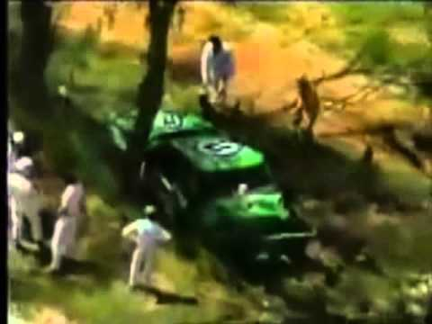 Bathurst 1983, Dick Johnson Top Ten Shootout Hardies Heros lap Crash - includes interview