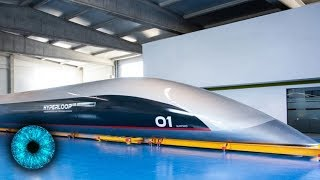 Erste Hyperloop-Kapsel vorgestellt! - Clixoom Science & Fiction