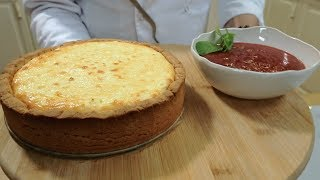 Десерт: Чизкейк по-русски из творога