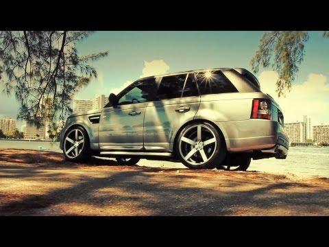 Range Rover Sport on 22'' Vossen VVS-CV3 Concave Wheels / Rims