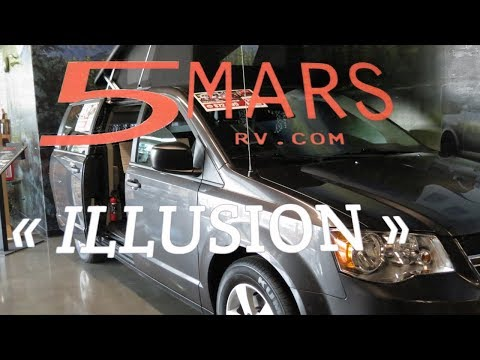 5 Mars Illusion Dodge Camper Van: ONLY In Canada!