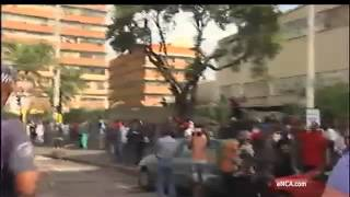 Tensions rise in Durban city centre