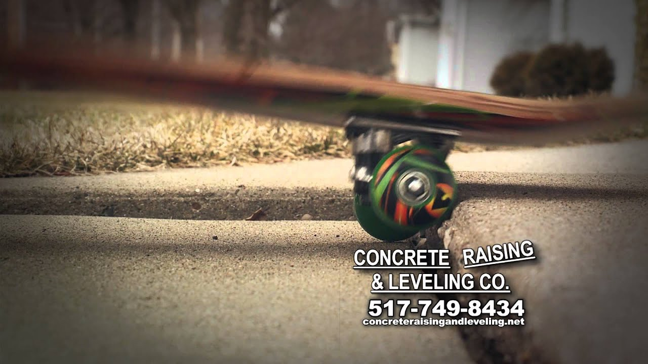 Concrete Raising And Leveling March 2013 15 Youtube