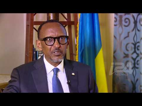 EXCLUSIVE: Rwandan President Paul Kagame​ talks to i24NEWS