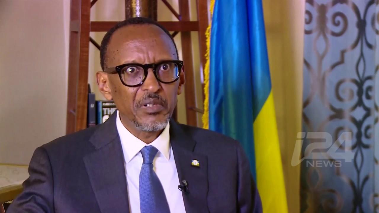 EXCLUSIVE: Rwandan President Paul Kagame talks to i24NEWS