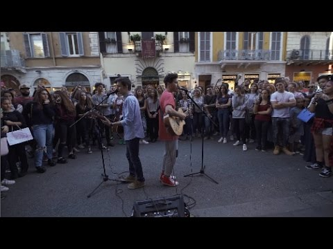 Shawn Mendes - Treat You Better + Stitches (Federico Baroni & Gabriele Esposito Street Cover)