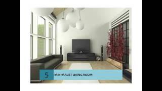 Stunning Minimalist Living Room Designs