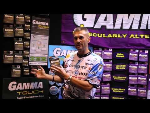 Randy howell gamma fishing line icast 2015 youtube for Gamma fishing line