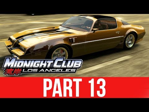 MIDNIGHT CLUB LOS ANGELES XBOX ONE Gameplay Walkthrough Part 13 - LOSING A PINK SLIP RACE