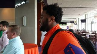 TigerNet.com - Christian Wilkins interviews Carlos Watkins