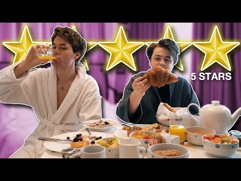 5 Star Hotel Room Service Review (London)