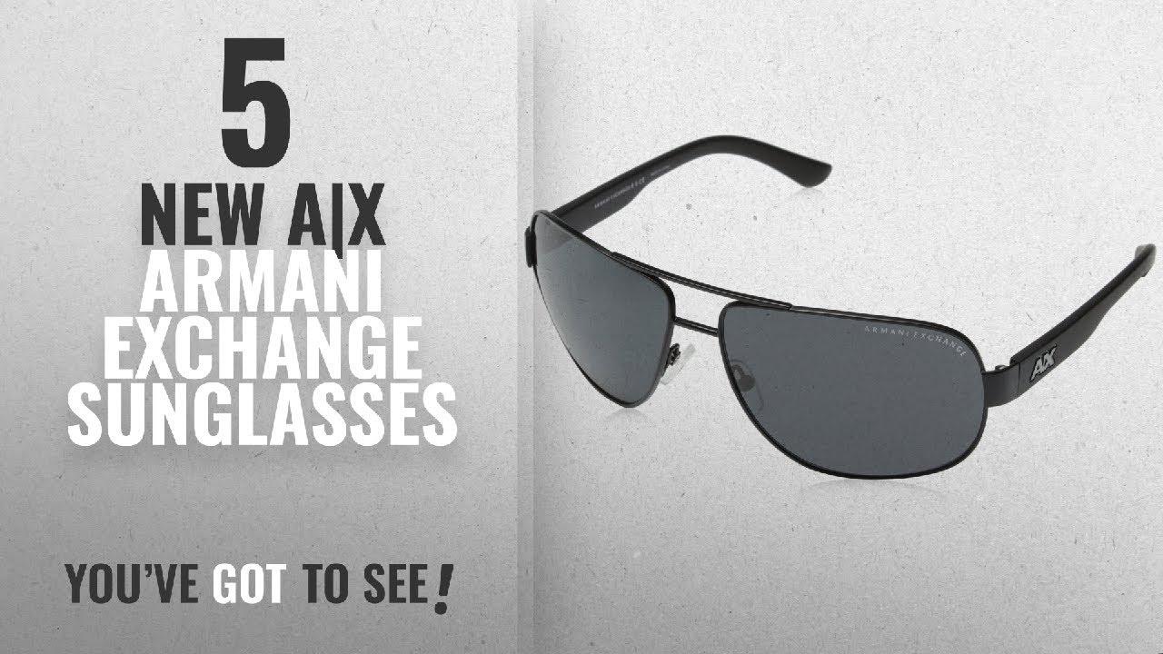 2e410f2c85 Top 10 A|X Armani Exchange Sunglasses [ Winter 2018 ]: Armani ...