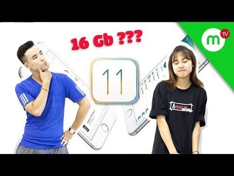 Trả lời #32 iPhone 16GB có đủ dùng, iPhone 6 có nên lên iOS 11 không? |  MANGOTV