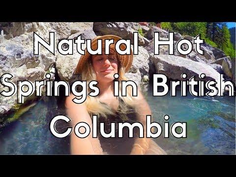 A BEAR RAN AT ME!!!!!! + British Columbia's Last Natural Hot Spring