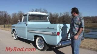 "1959 ""Deluxe"" Apache Fleetside (Video 2) - MyRod.com"