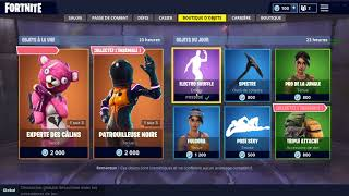 BOUTIQUE FORTNITE DU 29 AOUT 2018 !!! ~ Item Shop 29 AUGUST 2018 ~ (29/08/2018)