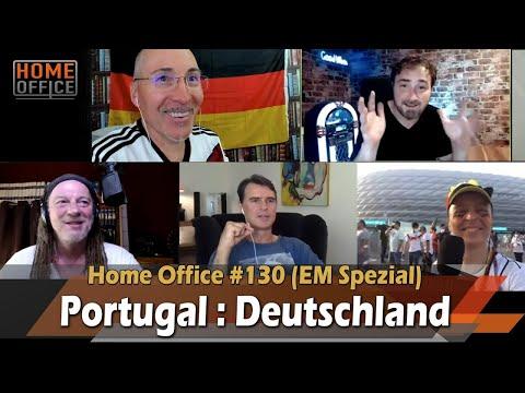 Portugal : Deutschland ⚽️ LIVE (mit Thomas Berthold - Fußballweltmeister 1990)