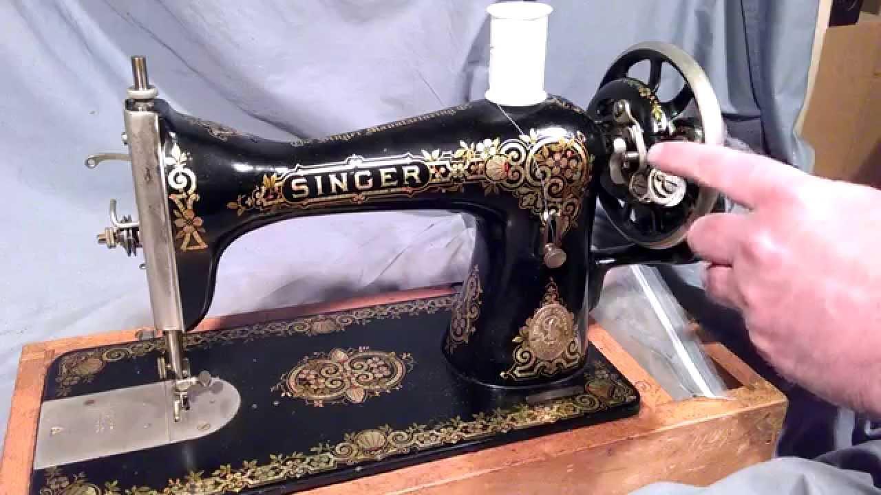 Vintage 1908 Singer Sewing Machine Part Modle 127