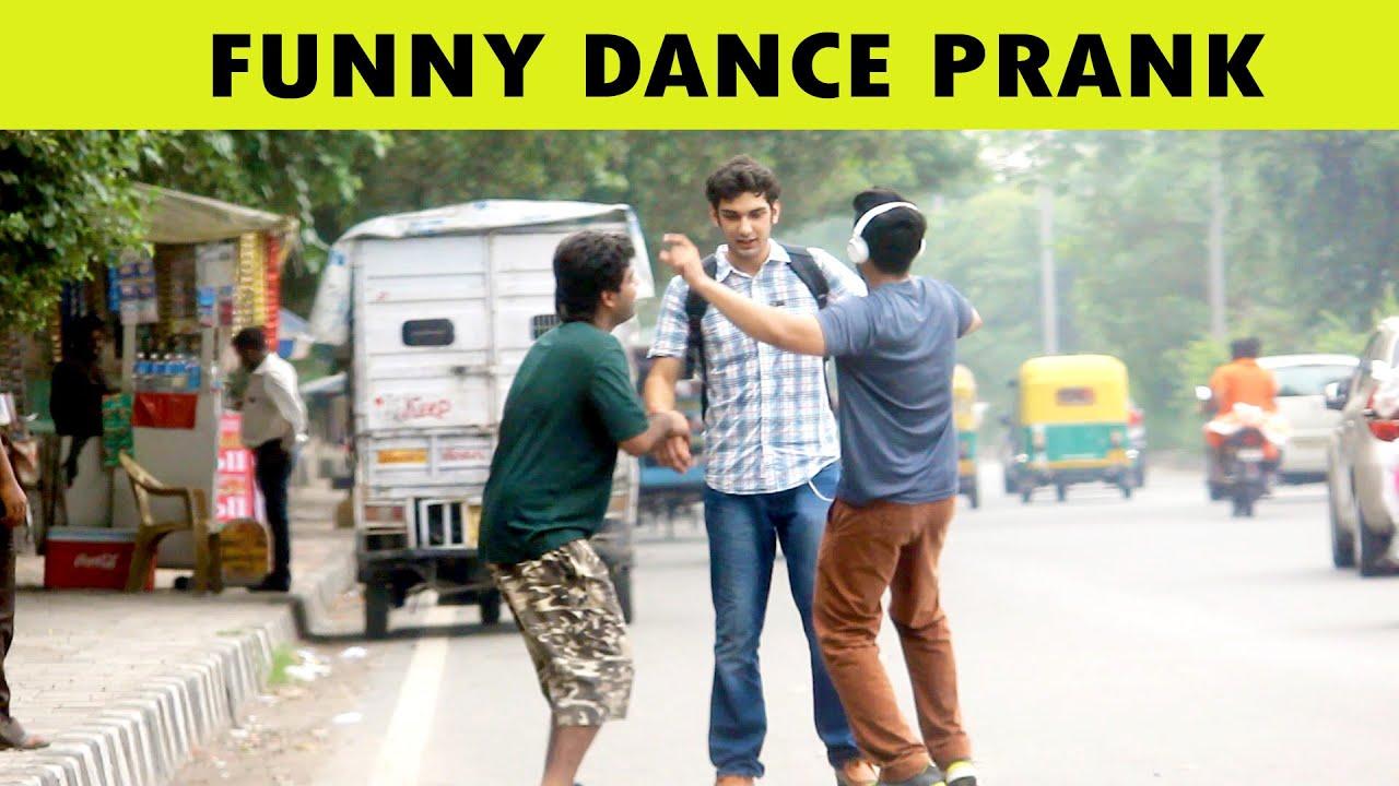 Funny Dance Prank on Road - Pranks in India