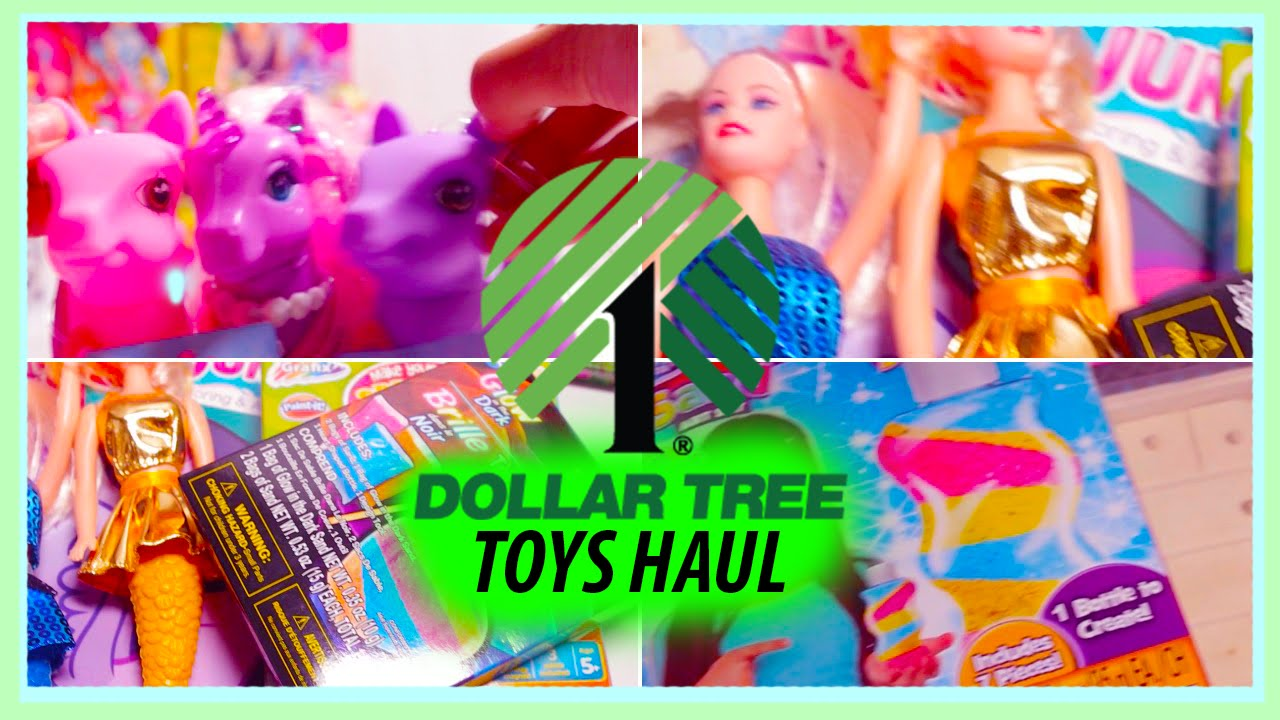 Dollar Tree Toys : Dollar tree toys haul mermaids doll furniture pegasus s