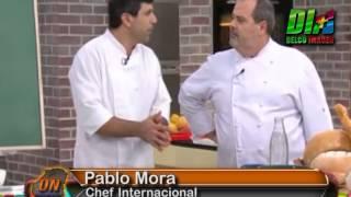 Delco Noticias Basavilbaso - Alba Hernández y Pablo Mora - Cocineros Argentinos