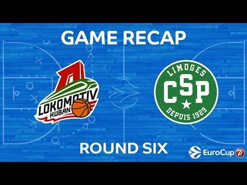 Highlights: Lokomotiv Kuban Krasnodar - Limoges CSP