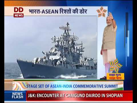 ASEAN India relations celebrate 25 years; 10 ASEAN heads of state in India