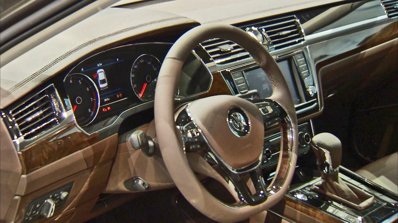 First Look 2017 Volkswagen Phideon Interior And Exterior Walkaround Youtube