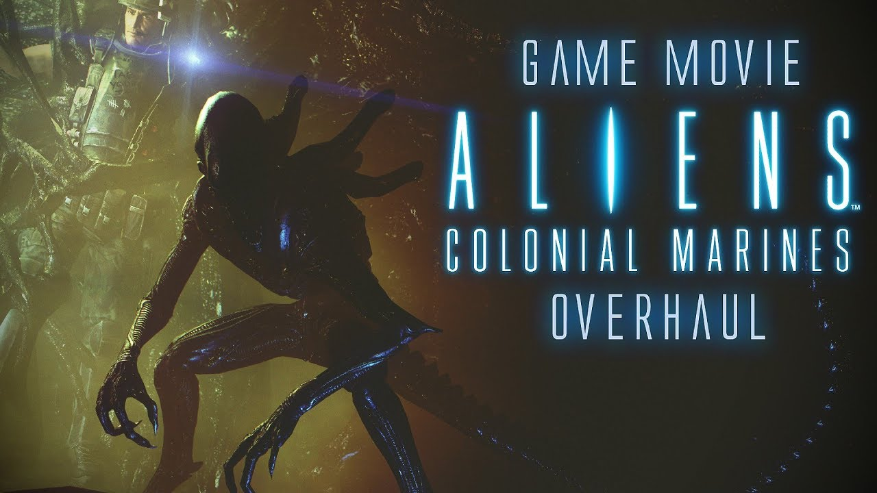 Aliens: Colonial Marines - Game Movie (Remaster TemplarGFX)