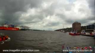 Der Hamburger Hafen im Mai 2012 - eine Rundfahrt im Zeitraffer