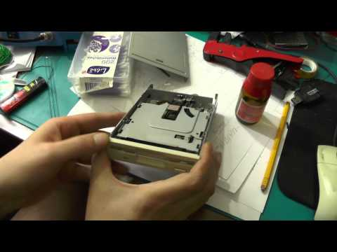 How to Clean the R/W Heads in a 3.5'' Disk Drive